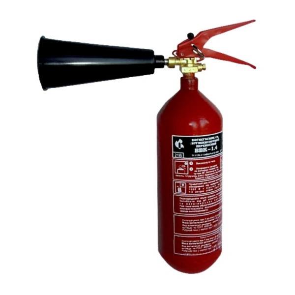 Огнетушитель ОУ 2 (ВВК1,4) - углекислотный