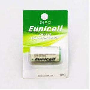 Батарейка Eunicell CR123A / 3V Lithium
