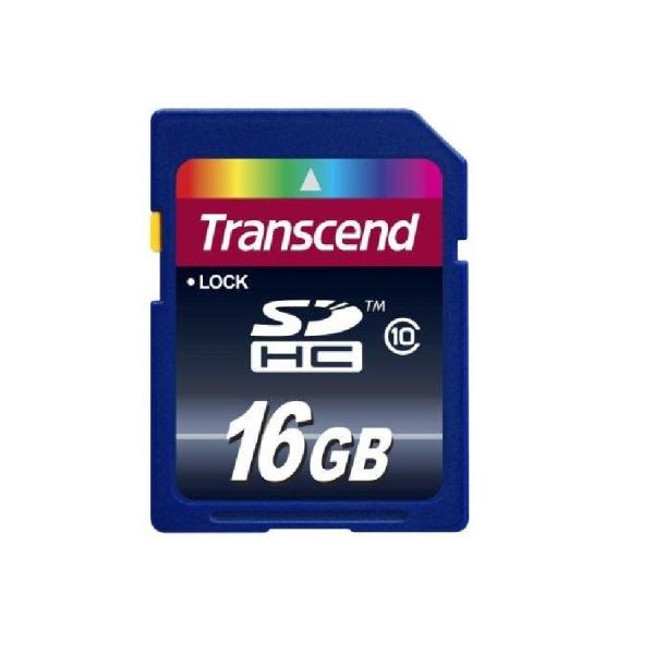 Карта памяти 16GB Transcend microSDHC class 10