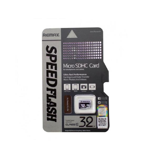 Карта памяти microSDHC 32GB Remax Class10 (без адаптера)