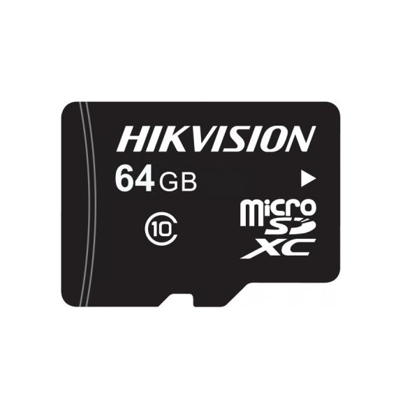 Карта памяти miсro-SD Hikvision HS-TF-L2I/64GB