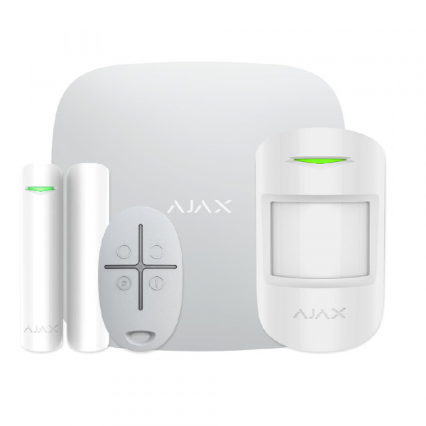 Комплект сигнализации Ajax StarterKit Plus White