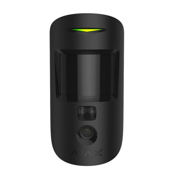 Беспроводной датчик движения с фотокамерой Ajax MotionCam Black