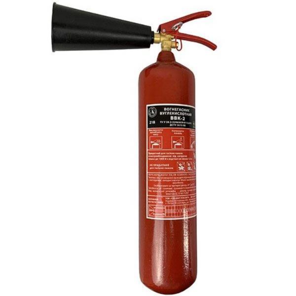 Огнетушитель углекислотный ОУ 3 (ВВК2)