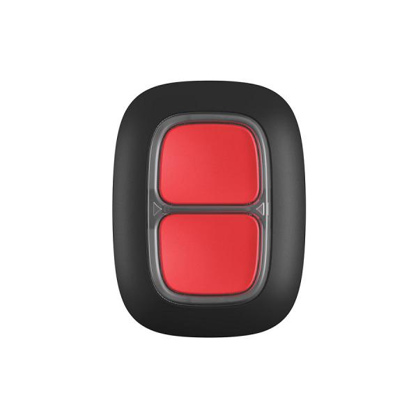 Беспроводная экстренная кнопка AJAX DoubleButton Black