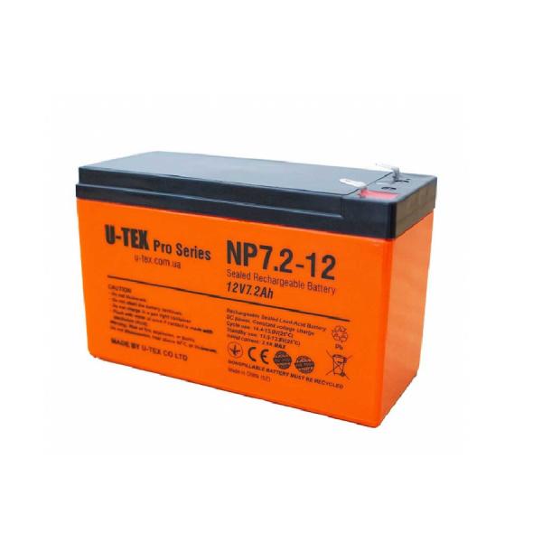 Аккумулятор U-tex 12В / 7,2 Ah