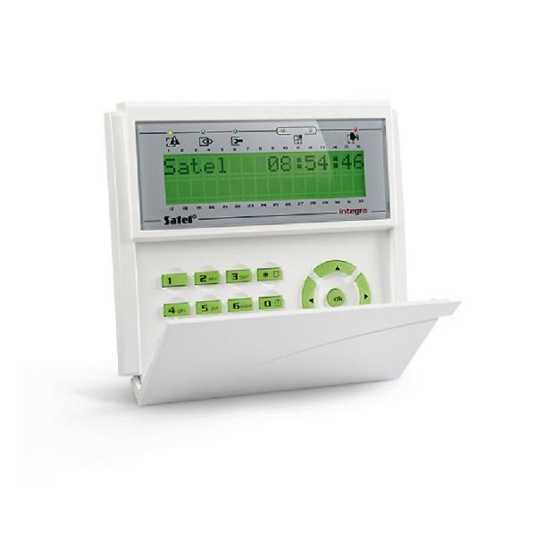 Клавиатура с ЖКИ дисплеем Satel INT-KLCD-GR