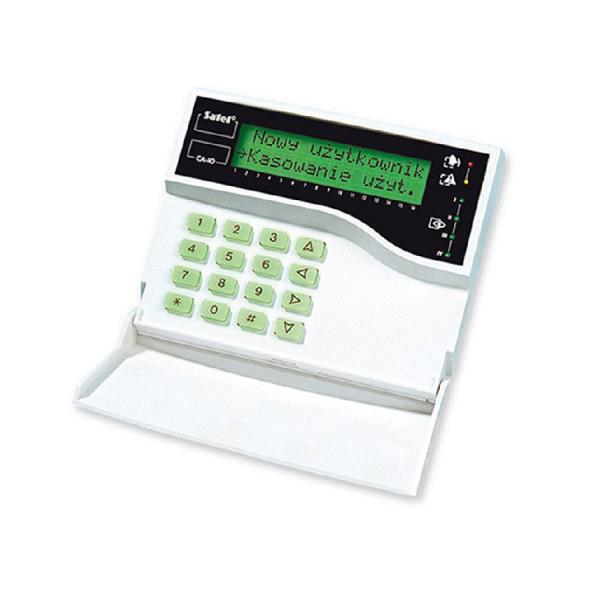 Клавиатура с ЖКИ дисплеем Satel CA-10 KLCD
