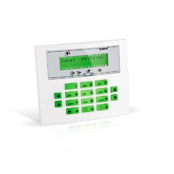 Клавиатура с ЖКИ дисплеем Satel INT-KLCDS-GR