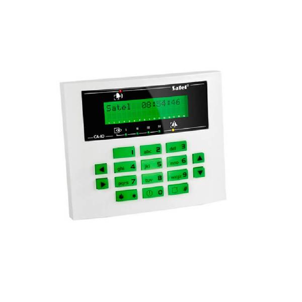 Клавиатура с ЖКИ дисплеем Satel CA-10 KLCD-S