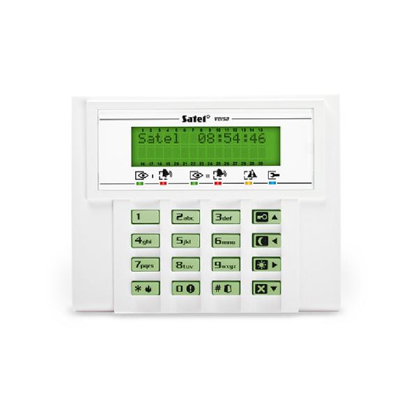 Клавиатура с ЖКИ дисплеем Satel VERSA-LCD-GR