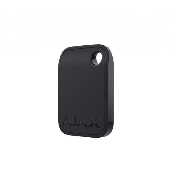 Брелок для управления охранной системой Ajax Tag Black (комплект 3 шт)