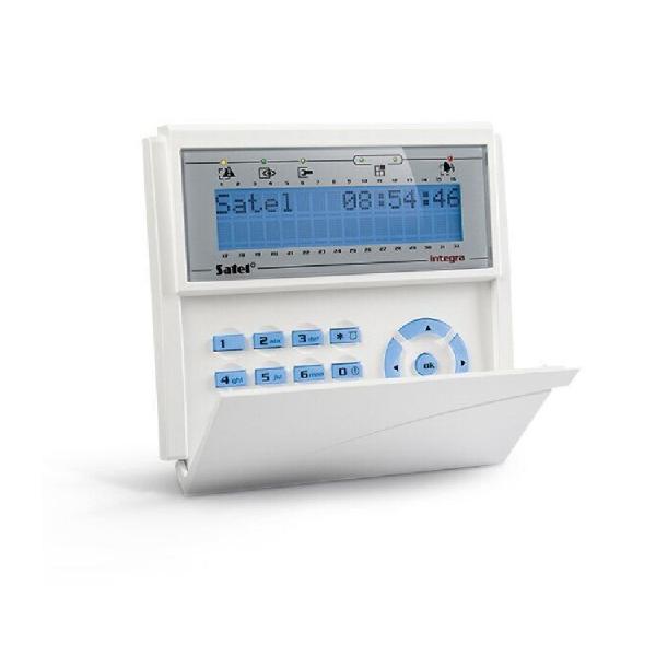 Клавиатура с ЖКИ дисплеем Satel INT-KLCD-BL