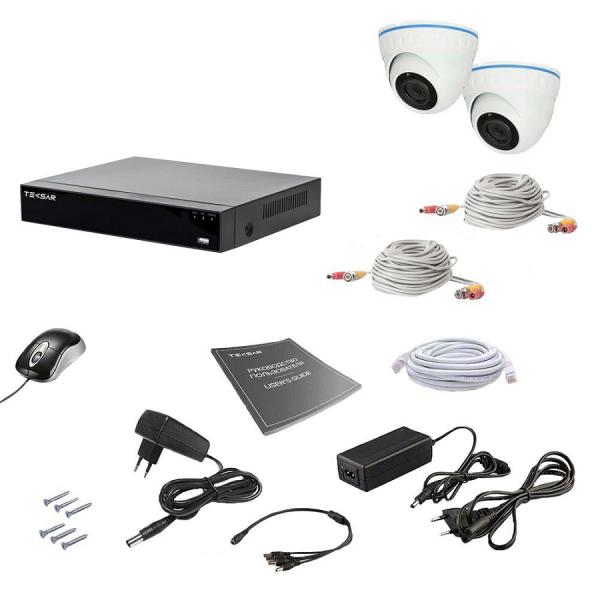 Комплект видеонаблюдения Tecsar AHD 2IN 5MEGA