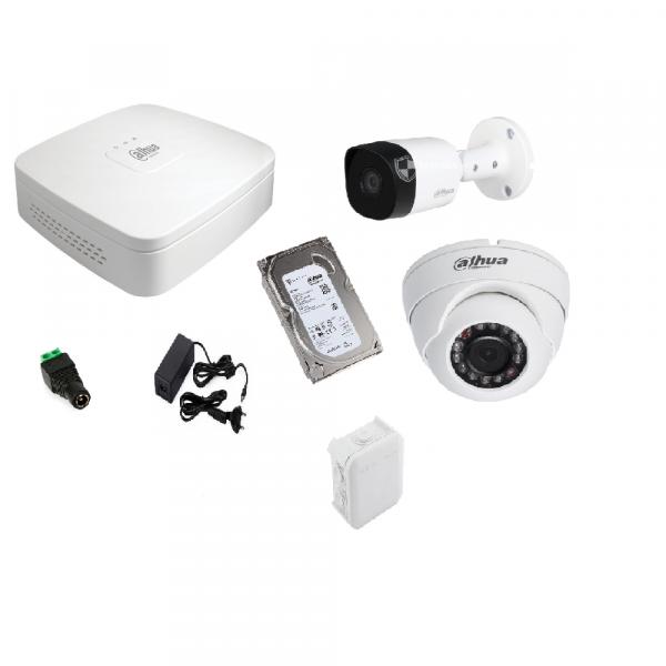 Комплект  аналоговой системы видеонаблюдения