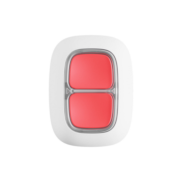 Беспроводная экстренная кнопка AJAX DoubleButton White