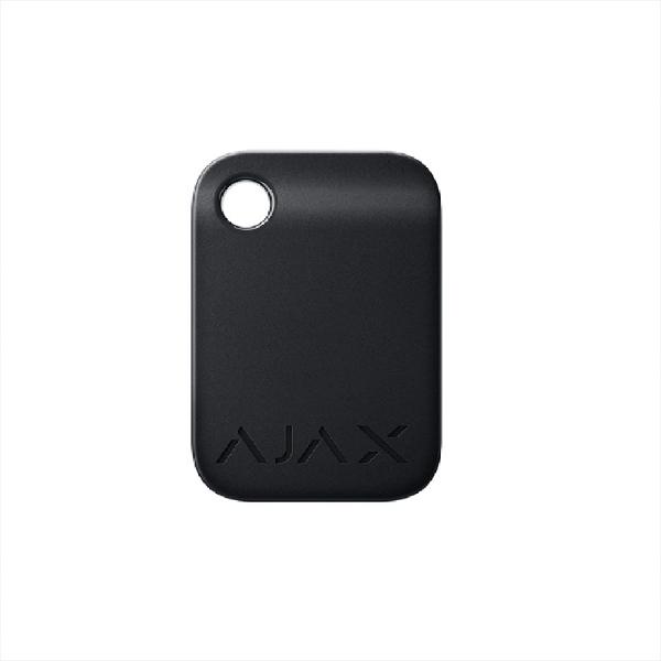 Брелок для управления охранной системой Ajax Tag Black (комплект 10 шт)