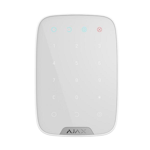 Беспроводная сенсорная клавиатура  Ajax Key Pad White