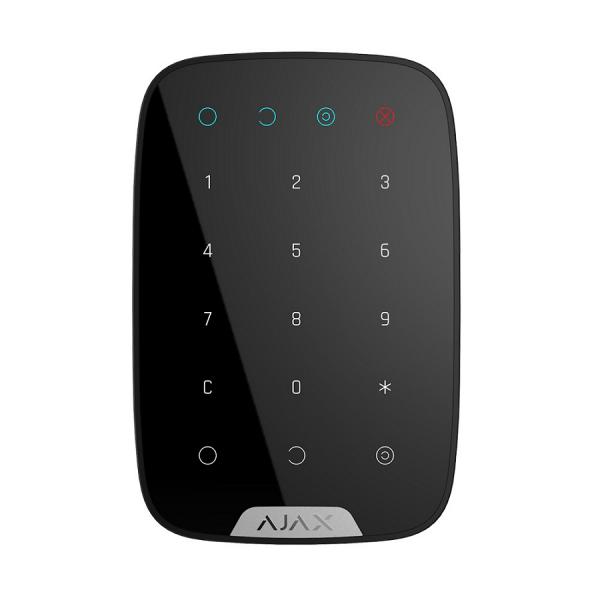 Беспроводная сенсорная клавиатура Ajax Key Pad Black