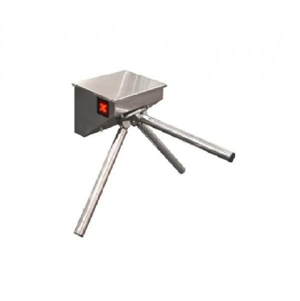 Турникет-трипод SKULL – полированная нержавеющая сталь
