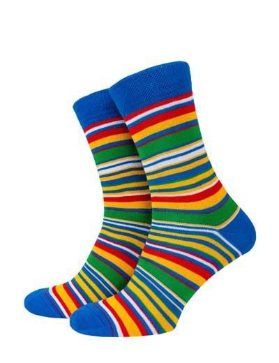 Blue-green stripe