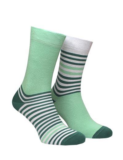 Green-mint stripe