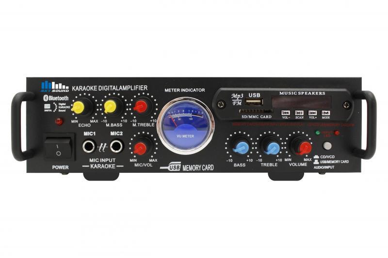 Фото Усилитель мощности SKY SOUND SM-088a (2*50W) Bluetooth L