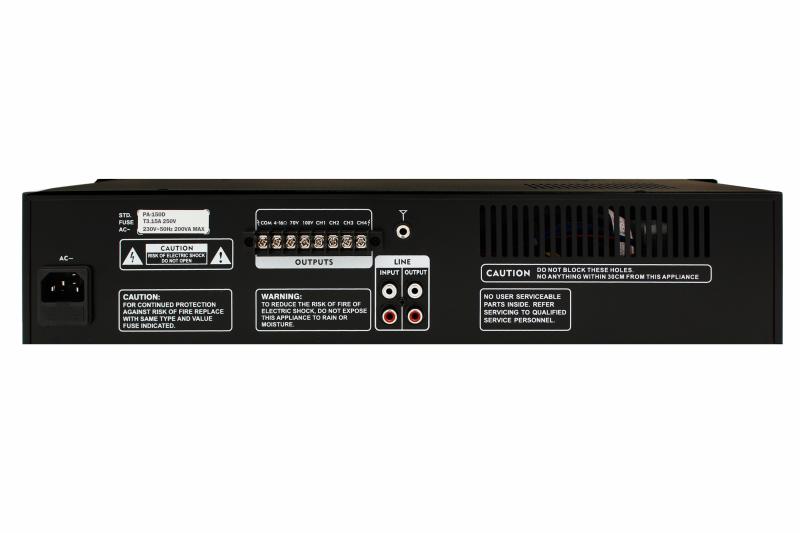 Фото Трансляционный усилитель мощности SKY SOUND PA-150D (4-ZONE) L