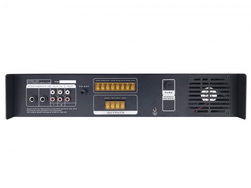 Фото Трансляционный усилитель мощности SKY SOUND SA-500W (6-ZONE) L