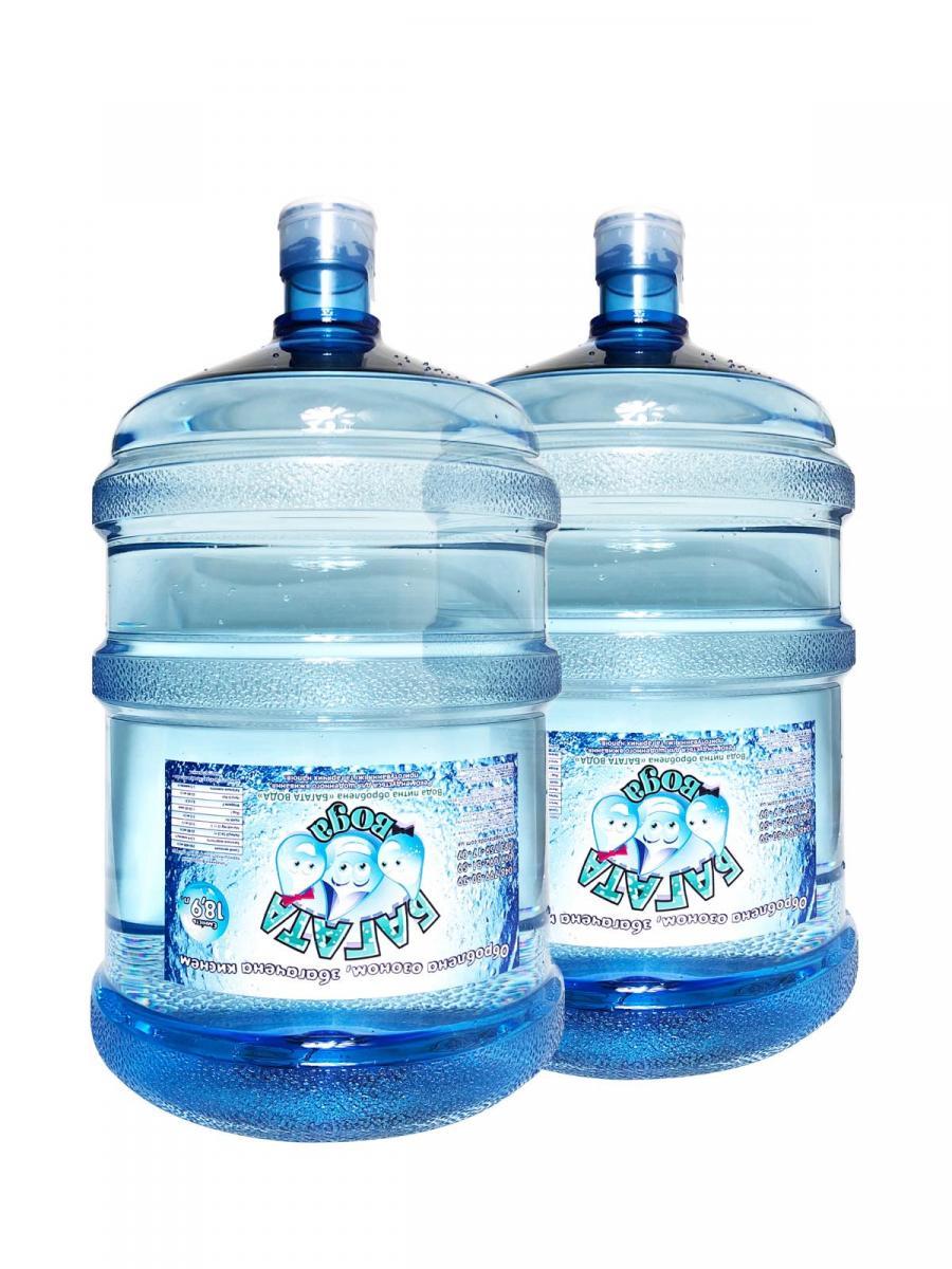 Фото Очищенная питьевая вода от 2 бутлей, 18,9 литр