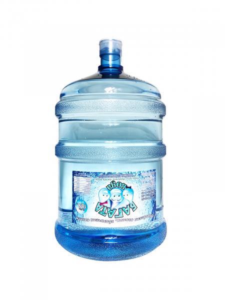 Фото Очищенная питьевая вода за 1 бут, 18,9 литр